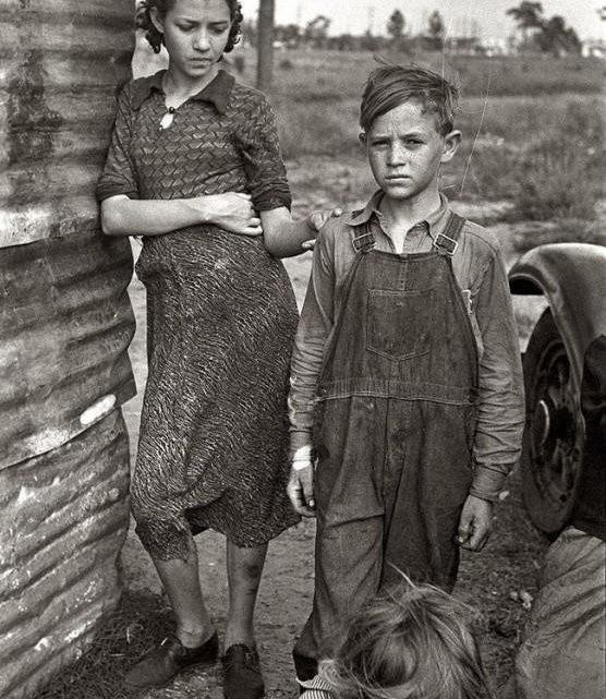 «Великая депрессия» в Америке: подборка фотографий
